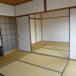 和室が2部屋あります。(居間)